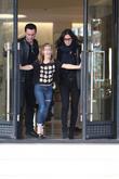 Courteney Cox, Johnny Mcdaid and Coco Arquette