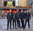Joey Mcintyre, Danny Wood, Jordan Knight, Donnie Wahlberg and Jonathan Knight (nkotb)
