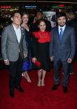 Ryan Moore, Jinkee Pacquiao and Manny Pacquiao