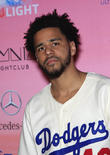 J. Cole Attends Fan's High School Graduation