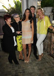 Sharon Osbourne, Kelly Osbourne, Terri Seymour, Clark Mallon and Natasha Henstridge