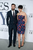 Amelia Warner and Jamie Dornan