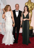 Rene Russo, Dan Gilroy and Rose Gilroy