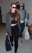 Sophie Turner and Gwendoline Christie
