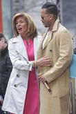Romeo Santos and Hoda Kotb