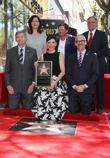 Leron Gubler, Maureen Schultz, Julianna Margulies, Michael J. Fox, Leslie Moonves and Mitch O'farrell