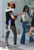 Kourtney Kardashian, Scott Disick and Mason Dash Disick