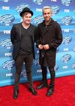 Patrick Stump and Pete Wentz