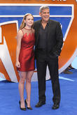 Britt Robertson and George Clooney