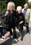 Brian May, Anita Dobson and Ivor Novello