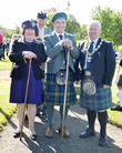 Susan Boyle, Alistair Todd and Provost Tom Kerr