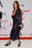 Lily Aldridge Treats Herself To Salmon Meal Before Every Runway Show