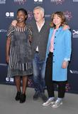 Jaqueline Lyanga, Denis Lawson and Jo Hartley