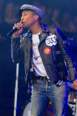 Pharrell Williams Makes Children Happy With Glastonbury Party