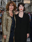 Anna Chancellor and Poppy Chancellor