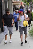 Mike Comrie and Luca Cruz Comrie