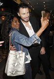 Sinitta and Rylan Clark