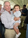 Michael Bloomberg and Grandson Jasper