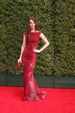 Lydia Hearst And Chris Hardwick Restage Proposal On Emmys Party Red Carpet