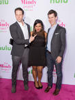 Ike Barinholtz and Mindy Kaling