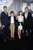 Garrett Hedlund, Levi Miller, Rooney Mara and Hugh Jackman