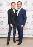 Calvin Klein and Louis Licari