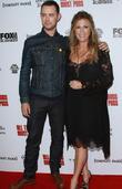 Colin Hanks and Rita Wilson