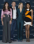 Monica Bellucci, Daniel Craig, Lea Seydoux and Naomi Harris