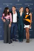 Monica Bellucci, Daniel Craig, Lea Seydoux and Naomie Harris
