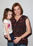 Alyson Hannigan and Emilie Posner