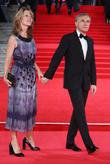 Christoph Waltz and Judith Holste