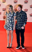 Louane Emera and Ed Sheeran