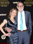 Victoria Labalme and Frank Oz