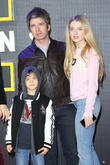 Noel Gallagher, Daughter Anais and Son Sonny