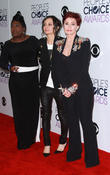 Sheryl Underwood, Sara Gilbert and Sharon Osbourne