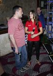 Danica Patrick and Tony Stewart