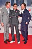 Paul Bettany, Robert Downey Jr. and Daniel Bruehl