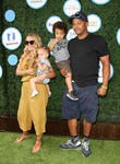 Donald Faison, Wife Cacee Cobb, Daughter Wilder Frances Faison and Son Rocco Faison