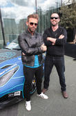 Josh Cartu and Sullivan Stapleton