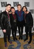 Imagine Dragons, Daniel Platzman, Ben Mckee and Dan Reynolds