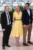 Arnaud Desplechin, Kirsten Dunst and Laszlo Nemes