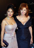 Susan Sarandon and Salma Hayek