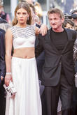 Adele Exarchopoulos and Sean Penn