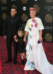 Carey Hart, Willow Sage Hart and Alecia Moore Aka Pink