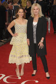 Emilia Clarke and Joanna Lumley