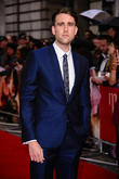 Matthew Lewis Chased By Angry Cows On Location