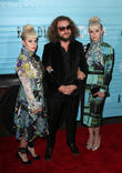 Holly Laessig, Jim James and Jess Wolfe