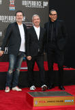 Harald Kloser, Roland Emmerich and Jeff Goldblum