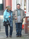 Sally Lindsey and Johnny Vegas