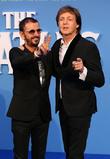 Ringo Starr and Paul Mccartney